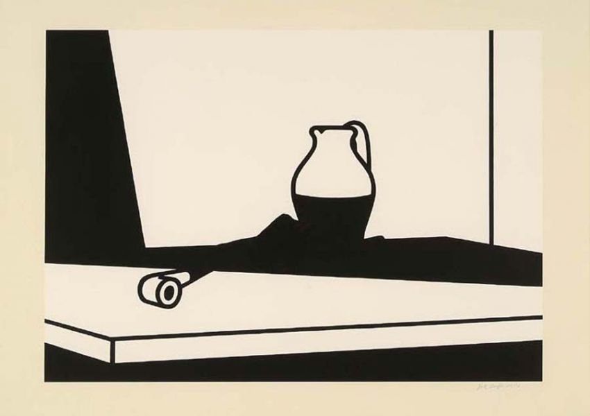 Patrick Caulfield, <i> Pipe and jug</i>, 1973
